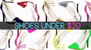 shoes under $20