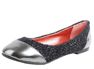 Montreal Tweed Fabric Flats