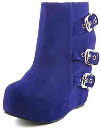 Cobalt Blue Boots