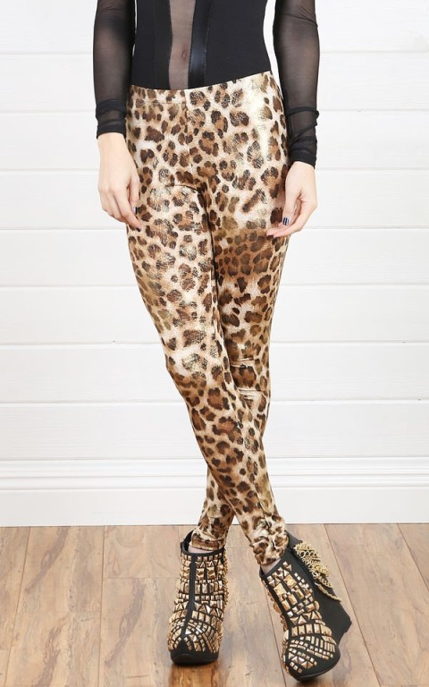 Animal Print Leggings