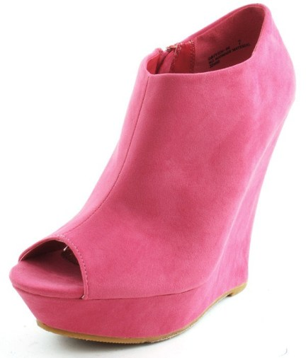 Peep-Toe-Wedge-Booties