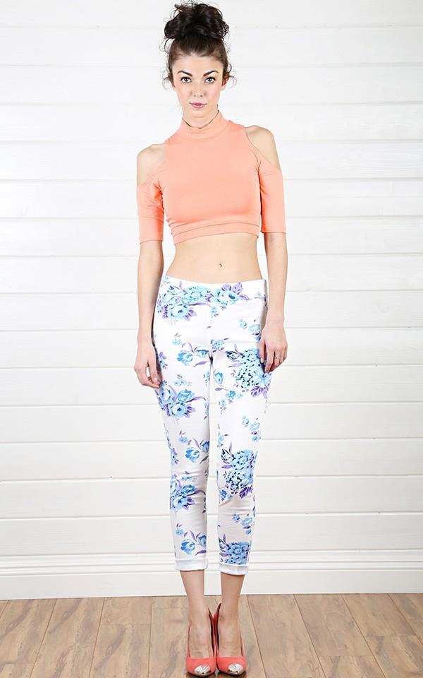 Printed Leggings Outfits Summer